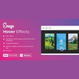 Sale! Buy Discount Emage – Image Hover Effects for Elementor - Cheap Discount Price