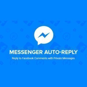 Sale! Buy Discount Facebook Messenger Auto-Reply - Cheap Discount Price