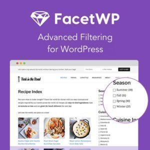 Sale! Buy Discount FacetWP – Advanced Filtering for WordPress - Cheap Discount Price