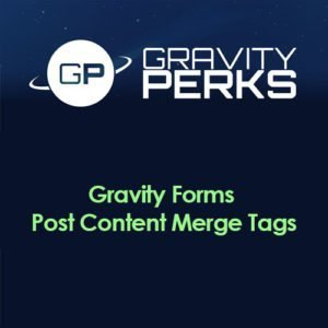 Sale! Buy Discount Gravity Perks – Gravity Forms Post Content Merge Tag - Cheap Discount Price