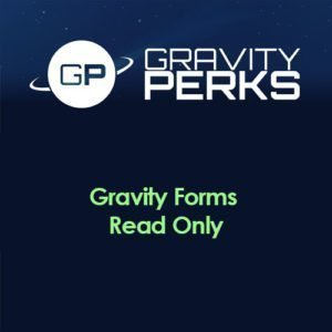 Sale! Buy Discount Gravity Perks – Gravity Forms Read Only - Cheap Discount Price