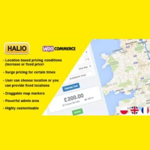 Sale! Buy Discount Halio: WooCommerce Taxi Booking Plugin - Cheap Discount Price