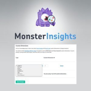 Sale! Buy Discount MonsterInsights – Dimensions Addon - Cheap Discount Price