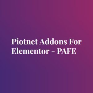 Sale! Buy Discount Piotnet Addons For Elementor Pro - Cheap Discount Price