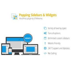 Sale! Buy Discount Popping Sidebars and Widgets for WordPress - Cheap Discount Price