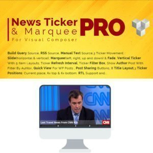 Sale! Buy Discount Pro News Ticker & Marquee for Visual Composer - Cheap Discount Price