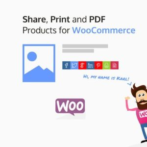 Sale! Buy Discount Share, Print and PDF Products for WooCommerce - Cheap Discount Price