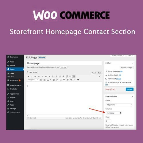 Sale! Buy Discount Storefront Homepage Contact Section - Cheap Discount Price