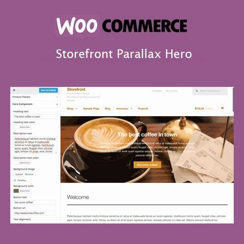 Sale! Buy Discount Storefront Parallax Hero - Cheap Discount Price