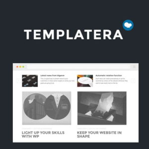 Sale! Buy Discount Templatera – Template Manager for Visual Composer - Cheap Discount Price