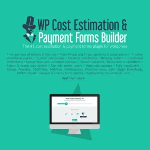 Sale! Buy Discount WP Cost Estimation & Payment Forms Builder - Cheap Discount Price