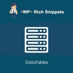 Sale! Buy Discount WP Rich Snippets DataTables - Cheap Discount Price