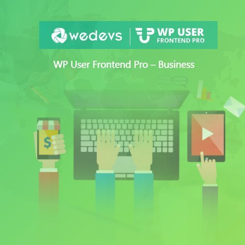Sale! Buy Discount WP User Frontend Pro – Business - Cheap Discount Price