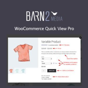 Sale! Buy Discount WooCommerce Quick View Pro By Barn2 - Cheap Discount Price