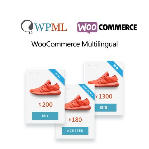Sale! Buy Discount Woocommerce Multilingual - Cheap Discount Price