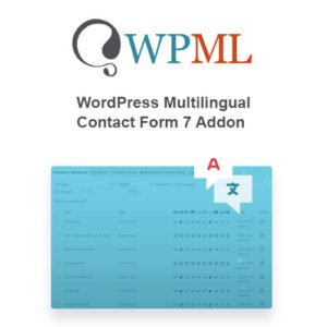 Sale! Buy Discount WordPress Multilingual Contact Form 7 Addon - Cheap Discount Price