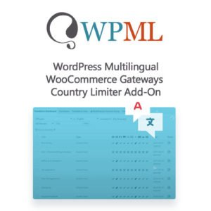 Sale! Buy Discount WordPress Multilingual WooCommerce Gateways Country Limiter Add-On - Cheap Discount Price