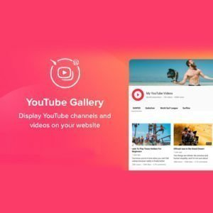 Sale! Buy Discount YouTube Plugin – WordPress Gallery for YouTube - Cheap Discount Price