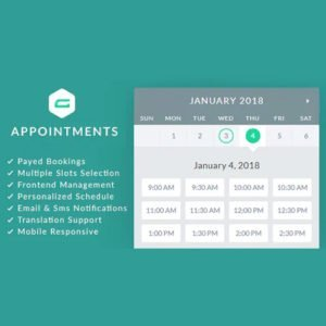 Sale! Buy Discount gAppointments – Appointment booking addon for Gravity Forms - Cheap Discount Price